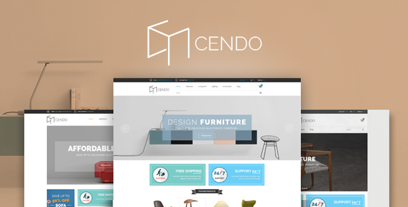 Cendo - Responsive HTML Furniture Template - Shopping Retail