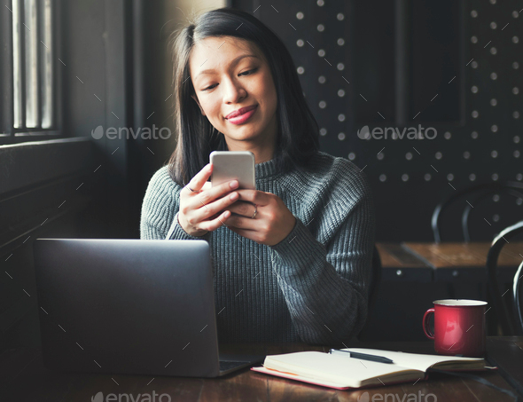Online Communication Technology Chat Concept - Stock Photo - Images