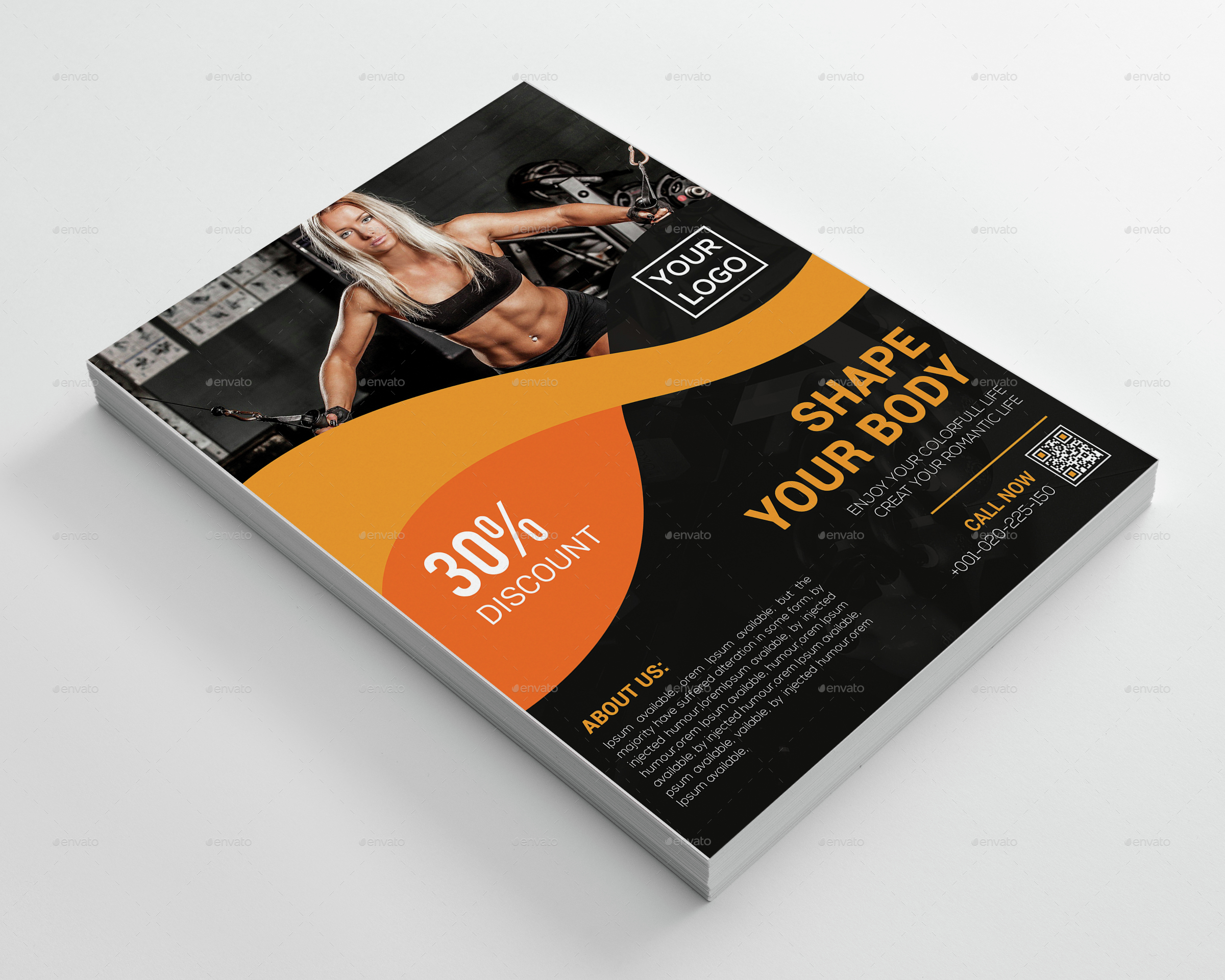 Fitness Business Flyer