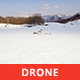 Snowy Valley in a Sunny Day - VideoHive Item for Sale