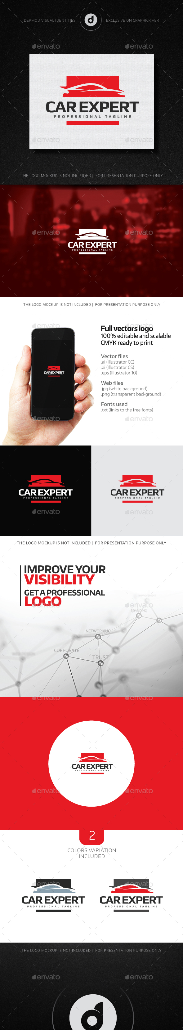 Car Expert Logo - Logo Templates