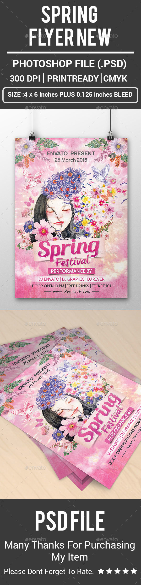 Spring Flyer New - Clubs & Parties Events