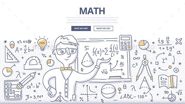 Math Doodle Concept - Conceptual Vectors