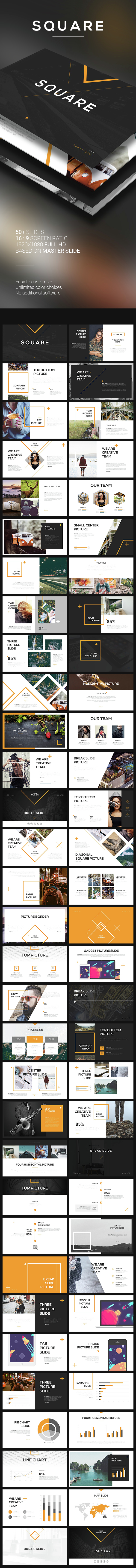 Square powerpoint template by angkalimabelas graphicriver square powerpoint template powerpoint templates presentation templates toneelgroepblik Image collections