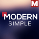Simple Modern Lower Thirds - VideoHive Item for Sale
