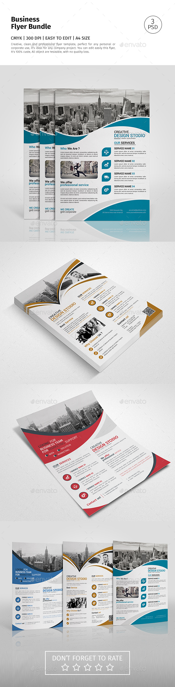 Corporate Flyer Bundle 03 - Corporate Flyers