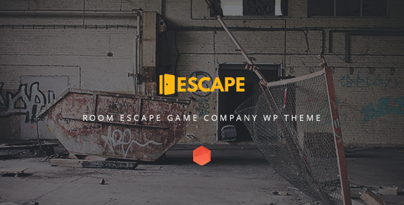 Escape - Real Life Room Escape Game Company WP Theme - Business Corporate