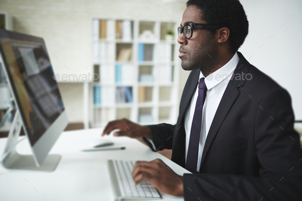 Networking in office - Stock Photo - Images
