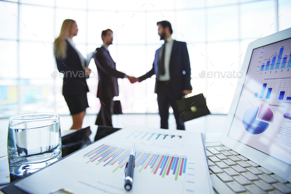 Business documents - Stock Photo - Images