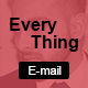 Every Thing Email Newsletter Template - GraphicRiver Item for Sale
