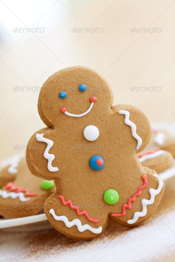 Gingerbread man - Stock Photo - Images