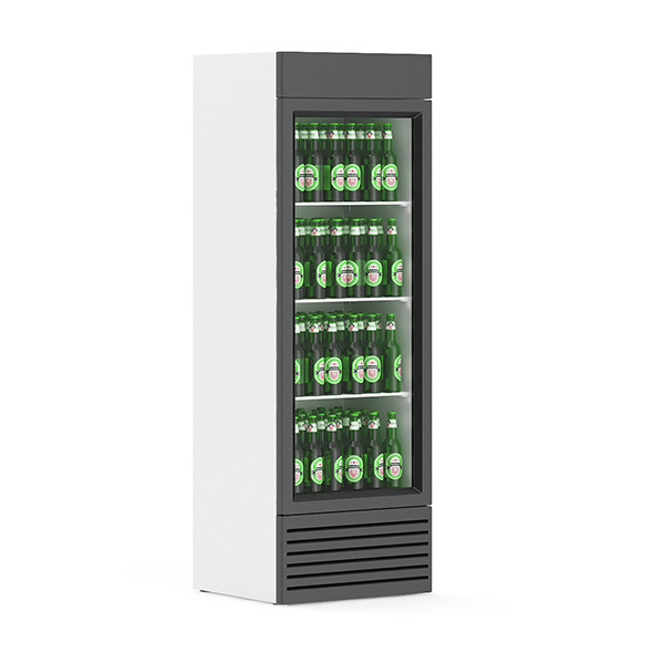 Market Refrigerator – Beer - 3DOcean Item for Sale