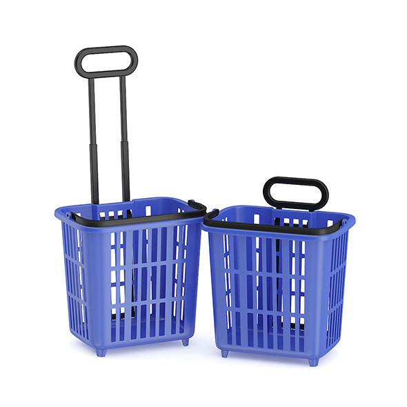 Two Shopping Baskets - 3DOcean Item for Sale