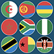 Flat Flag Icons African Countries - VideoHive Item for Sale