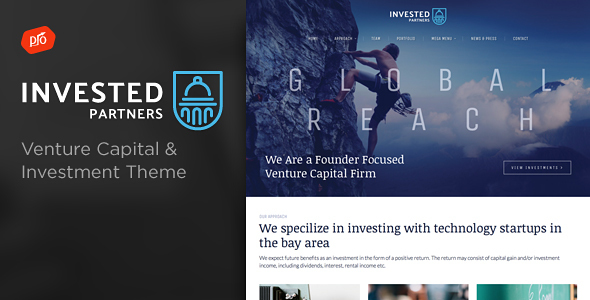 Invested – Venture Capital & Investment Theme