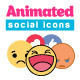 Animated Social Icons - VideoHive Item for Sale