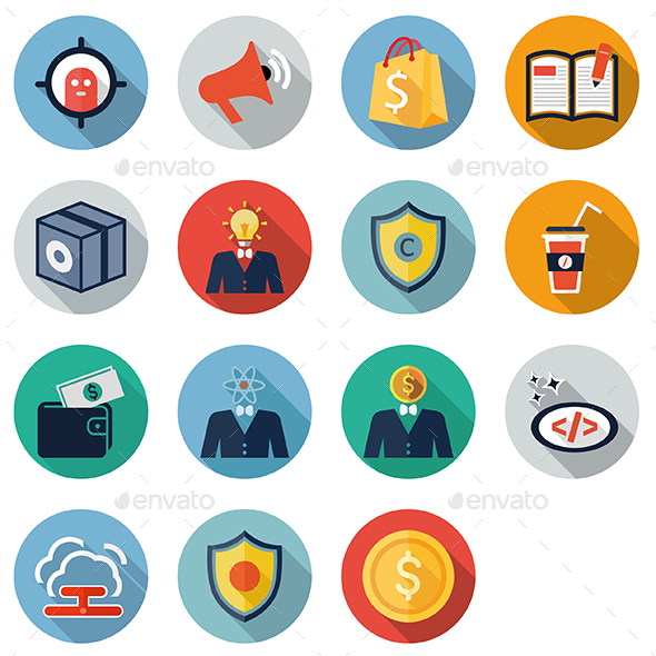 Seo Bussiness Pro - Business Icons