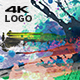 Abstract Paint 4K Logo - VideoHive Item for Sale