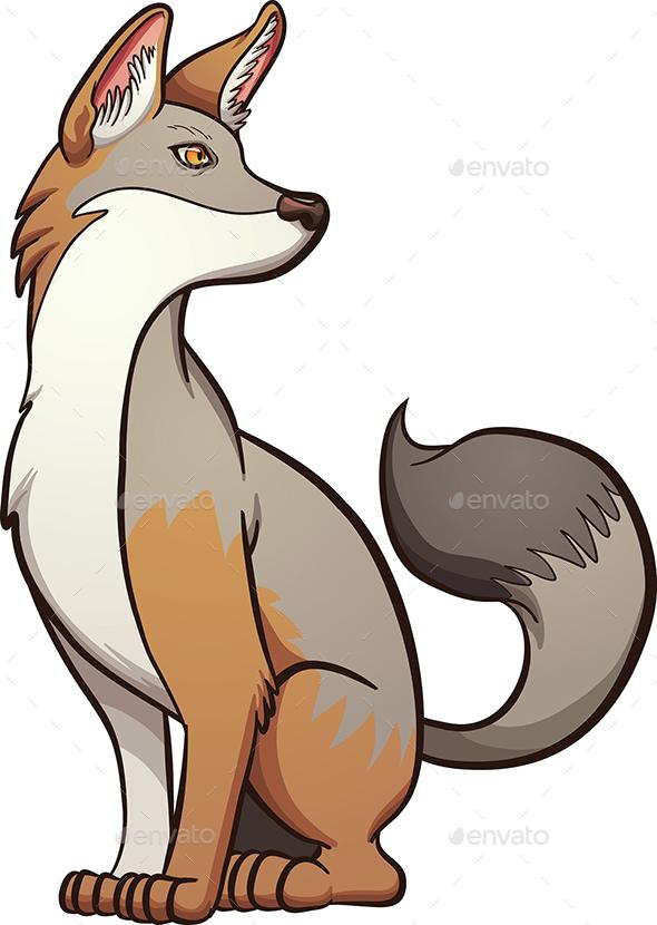 Gray Fox - Animals Characters