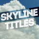 Skyline Titles - VideoHive Item for Sale