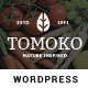 Organic Food/Fruit/Vegetables Responsive WordPress Theme - Tomoko - ThemeForest Item for Sale
