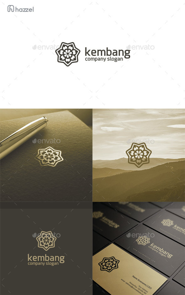 Kembang Logo - Nature Logo Templates