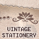 Vintage Paper Stationery; Pretty Victorian - GraphicRiver Item for Sale
