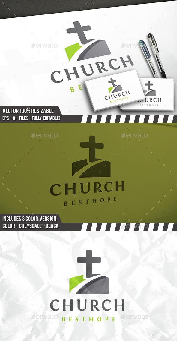 Church Way Logo - Symbols Logo Templates