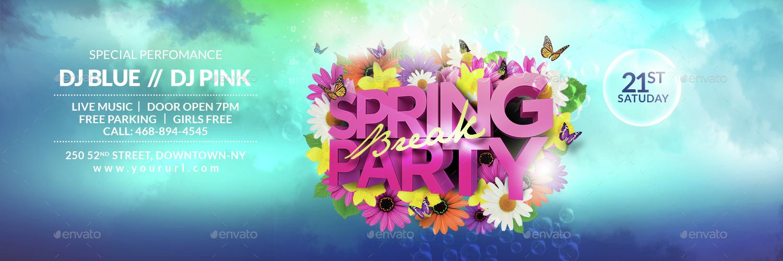 Spring Break Twitter Header