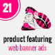 Minimal Product Sale Web Banner Ads - GraphicRiver Item for Sale