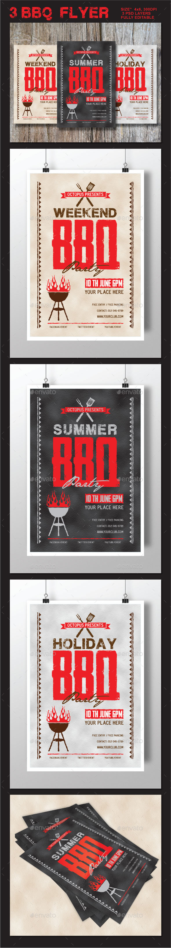 BBQ Summer / Weekend / Holiday Party - Clubs & Parties Events