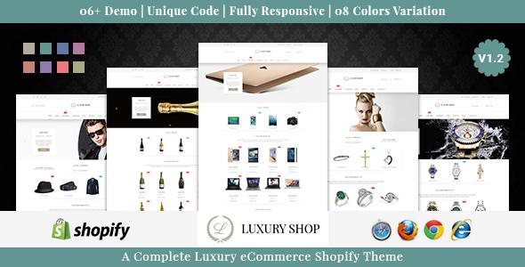 Luxury Shop - Responsive Shopify Theme - Shopping Shopify