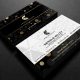 Gold And Black Business Card 4 - GraphicRiver Item for Sale