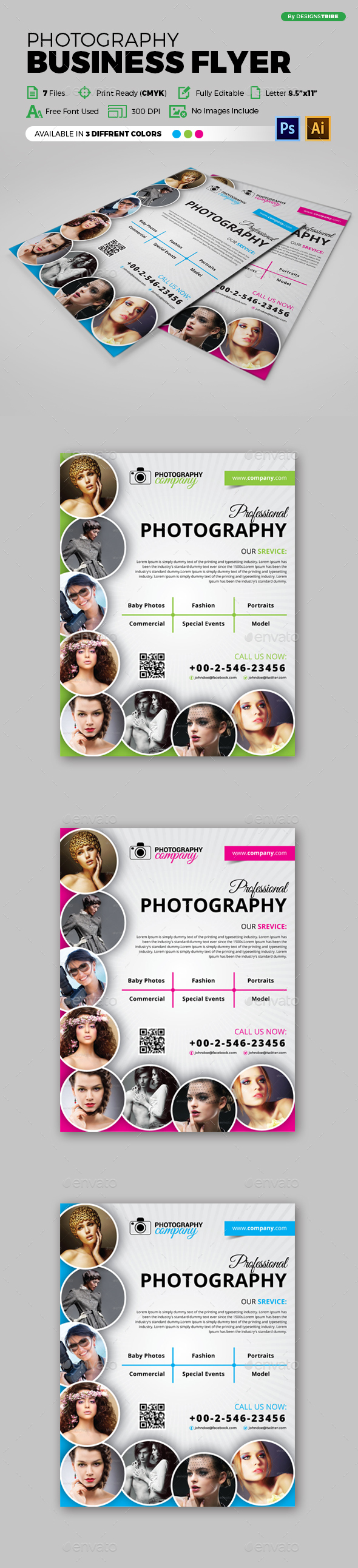 Flyer – Multipurpose 140 - Miscellaneous Print Templates