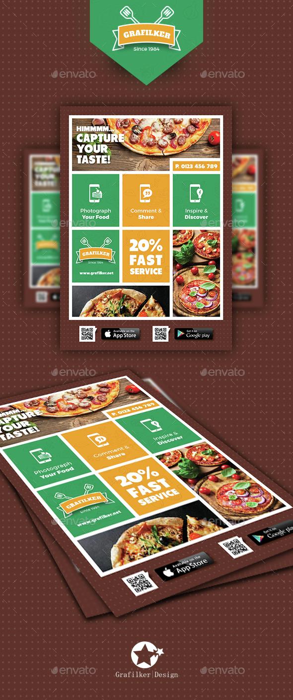 Pizza Shop Flyer Templates - Restaurant Flyers