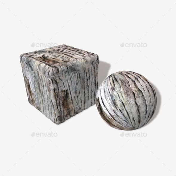 Rotten Wood Seamless Texture