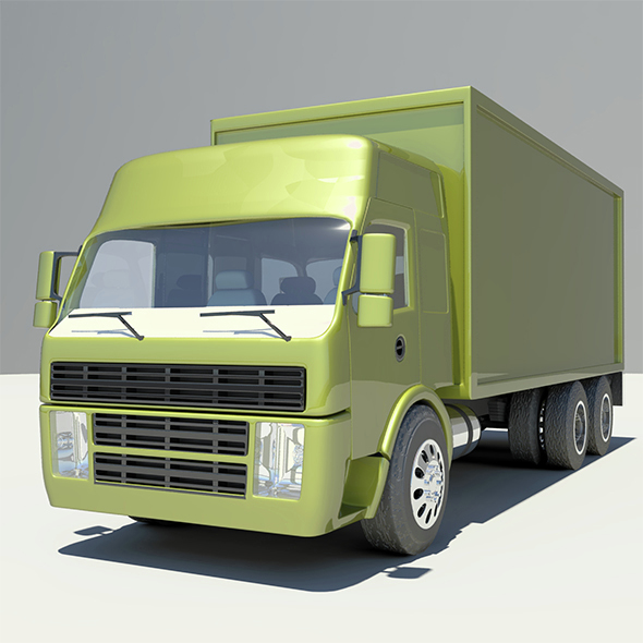 Volvo Truck  - 3DOcean Item for Sale