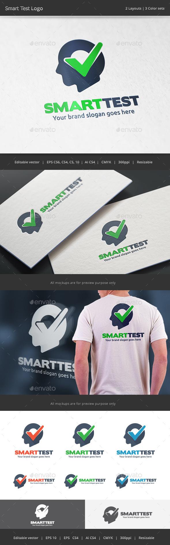 Smart Check Logo - Vector Abstract