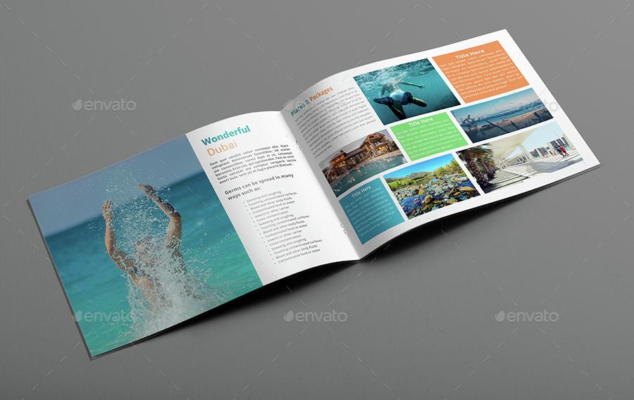 Travel Agency Brochure / Catalog Template by Al-Mamun | GraphicRiver