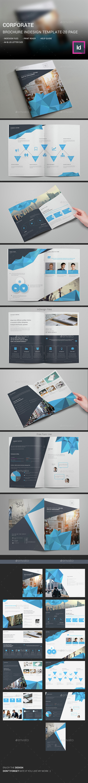 Corporate Brochure InDesign Template  - Corporate Brochures