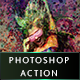Splash Art Photoshop Action - GraphicRiver Item for Sale