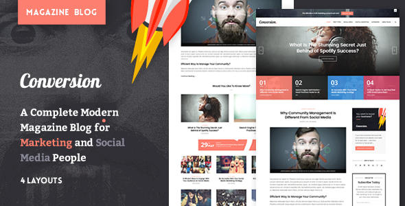 Ultimate Conversion – Digital Marketing Magazine Blog Theme