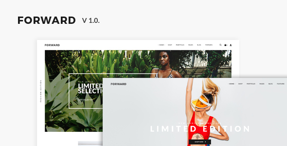 FORWARD – eCommerce PSD Template