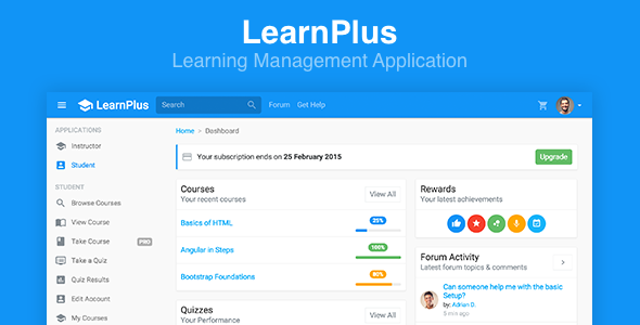 LearnPlus – Learning Management Application