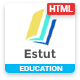Estut - Material Education, Learning Centre & Kid School MultiPurpose HTML5 Template - ThemeForest Item for Sale