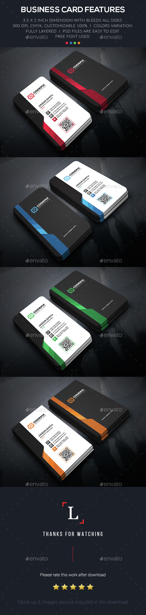 Creative Business Card - Business Cards Print Templates