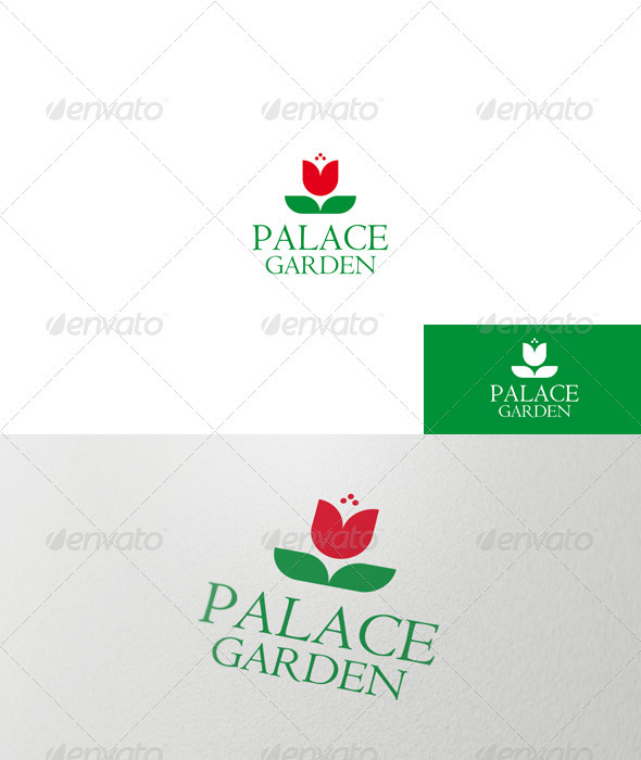 Palace Garden Logo - Nature Logo Templates