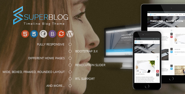 Super Blog - WooCommerce Responsive WordPress Theme