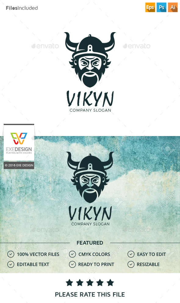 Viking Logo - Humans Logo Templates