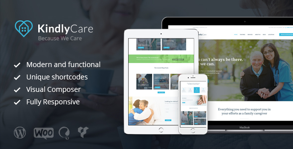 KindlyCare - Senior Care & Medical WordPress Theme